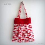 bolso reversible artesanal modelo summer pomelo rojo -002