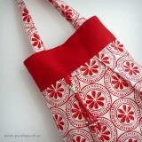 bolso reversible artesanal modelo summer pomelo rojo -004
