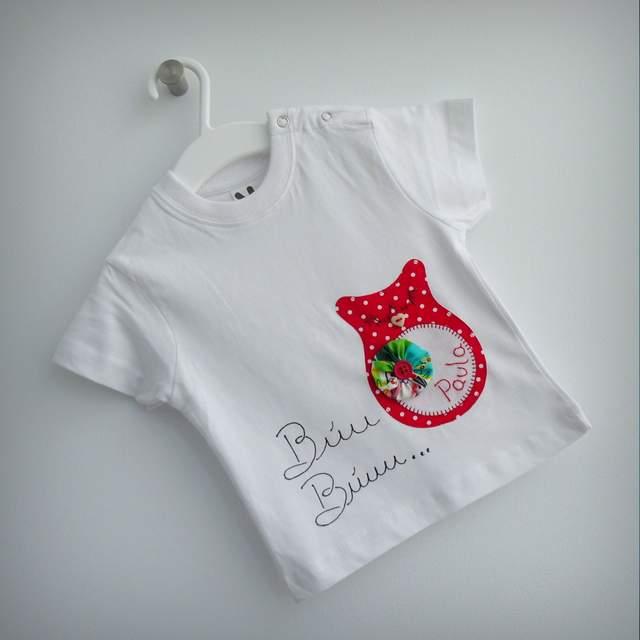 set bebe camiseta y ranita cambiador bandana personalizado artesanal-001
