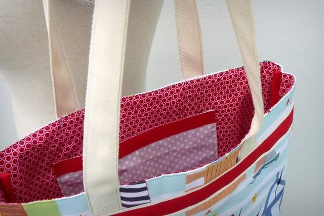 set bolso y toalla personalizado artesanal mar de luz punt a punt-001