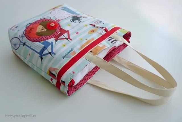 set bolso y toalla personalizado artesanal mar de luz punt a punt-004