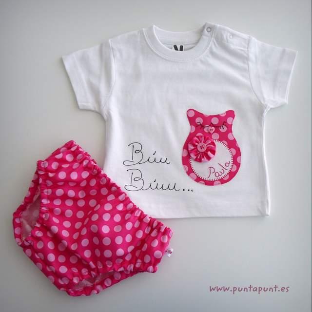 set infantil para bebe personalizado paula artesanal punt a punt-001