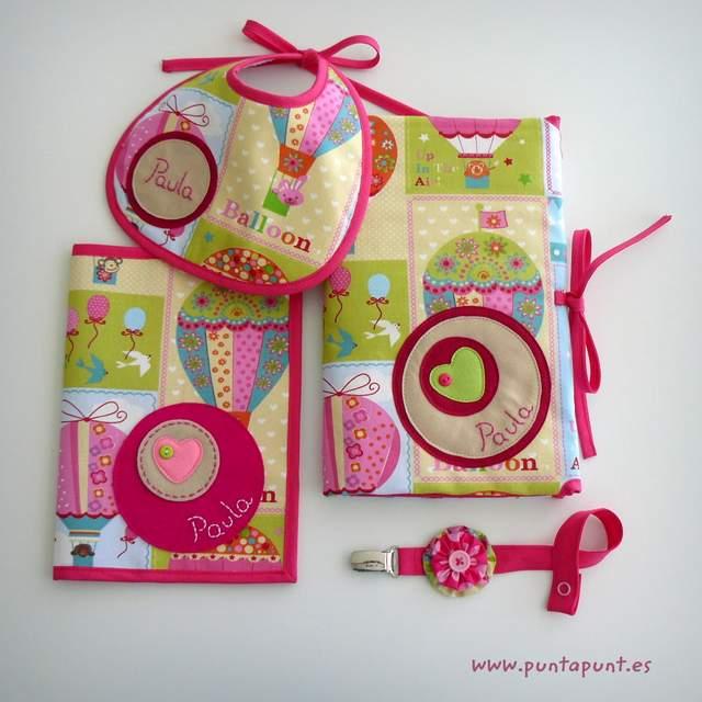 set infantil para bebe personalizado paula artesanal punt a punt-002