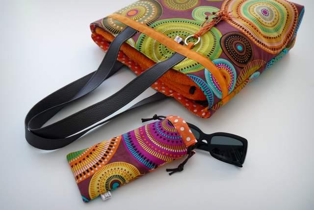 set playa bolso toalla y funda gafas personalizado artesanal-002