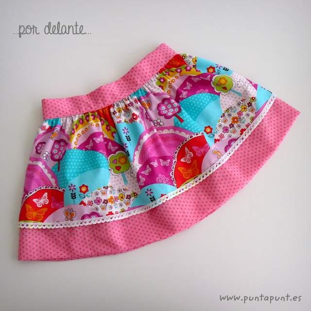 set falda y camiseta infantil personalizada bamba puntapunt-007