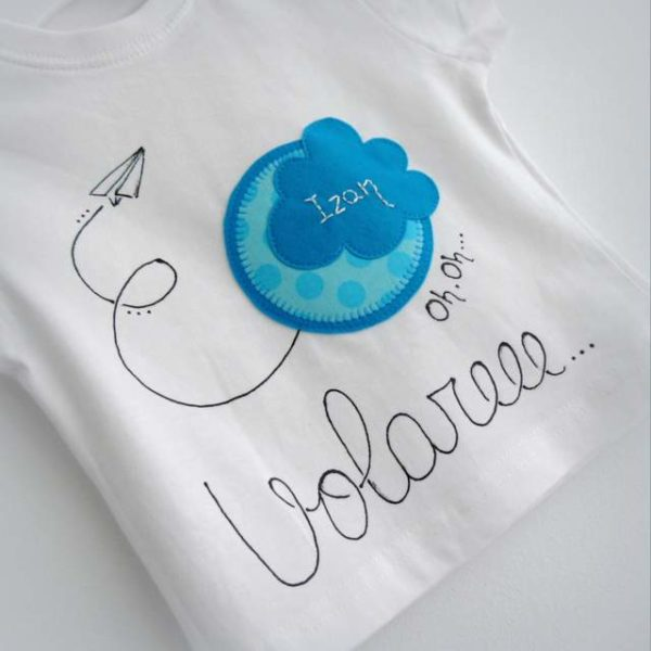Set de camiseta y ranita bebé «Volare»
