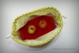 bolso cesta para llevar fiambrera comida picnic punt a punt-004
