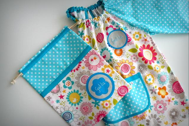 bata escolar y set escolar artesanal personalizado 2015 punt a punt-001