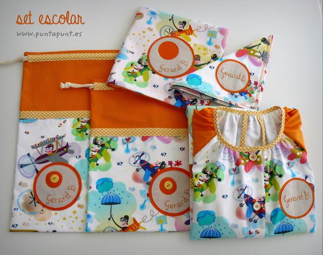 bata escolar y set escolar artesanal personalizado 2015 punt a punt-026