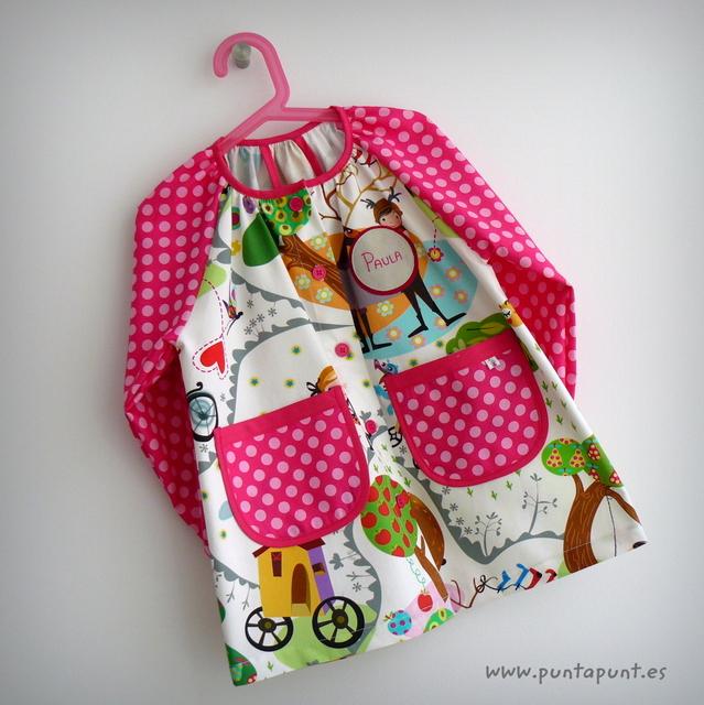 bata escolar y set escolar artesanal personalizado 2015 punt a punt-031