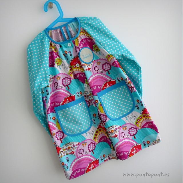 bata escolar y set escolar artesanal personalizado 2015 punt a punt-050
