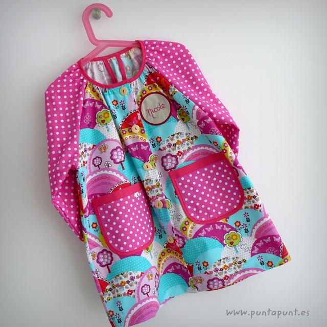 bata escolar y set escolar artesanal personalizado 2015 punt a punt-052