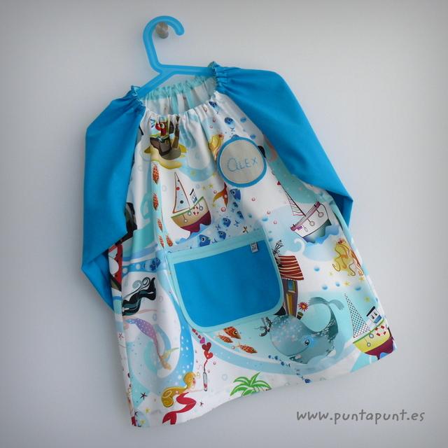 bata escolar y set escolar artesanal personalizado 2015 punt a punt-071