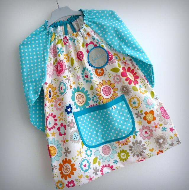 bata escolar y set escolar artesanal personalizado 2015 punt a punt
