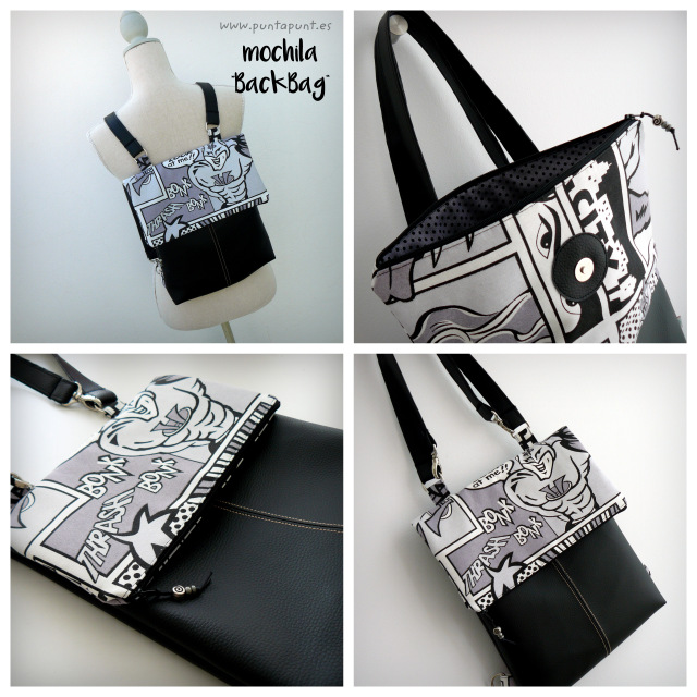 mochila-backbag-simil-piel-convertible-a-bolso-comic-punt-a-punt