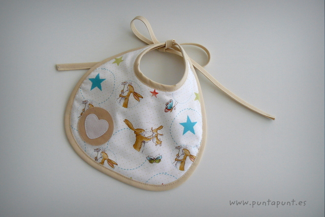 set para bebe artesanal rabbit white punt a punt-004