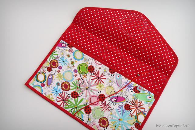 funda carpeta personalizada artesanal dina4 punt a punt-001