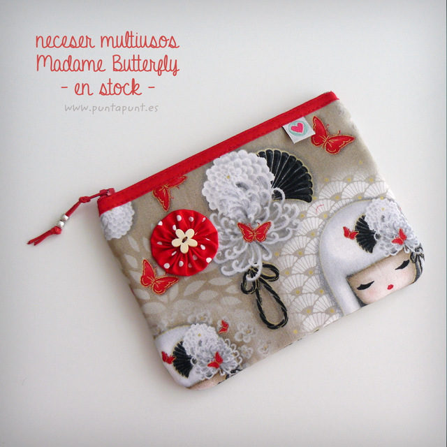 Neceser multiuso «Madame Butterfly » – en stock