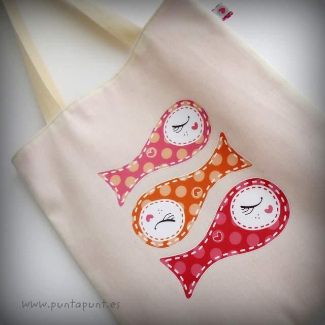 bolsa bicolor sardinillas rosa punt a punt-004