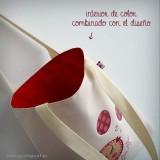bolsa cotton bicolor glu glu rojo punt a punt-001