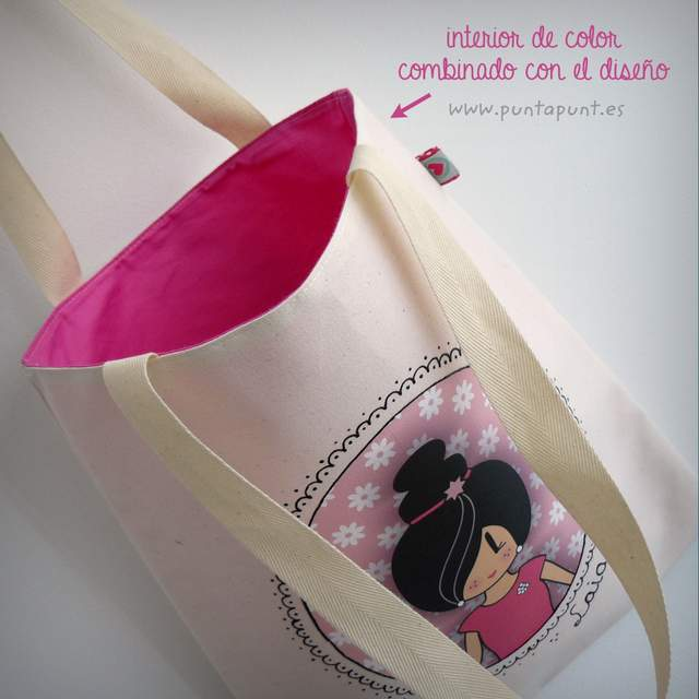 bolsa multiusos cotton pepetta rosa punt a punt-002