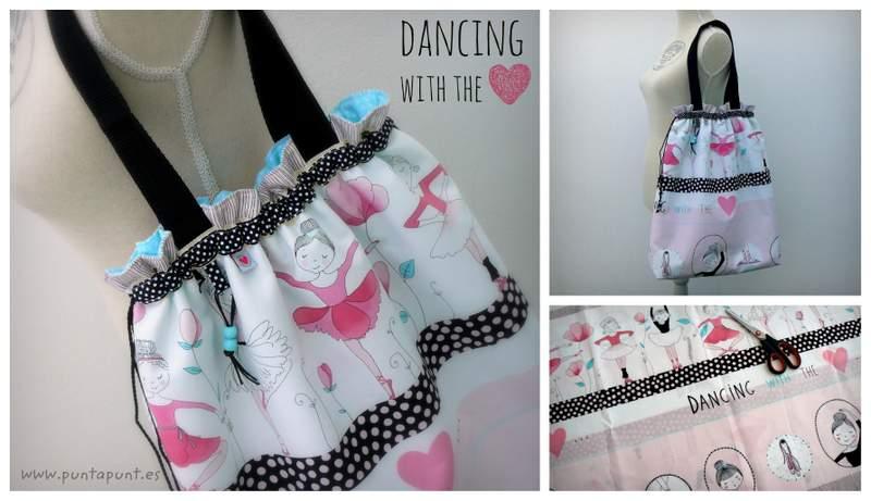 bolsa para clases de danza o ballet