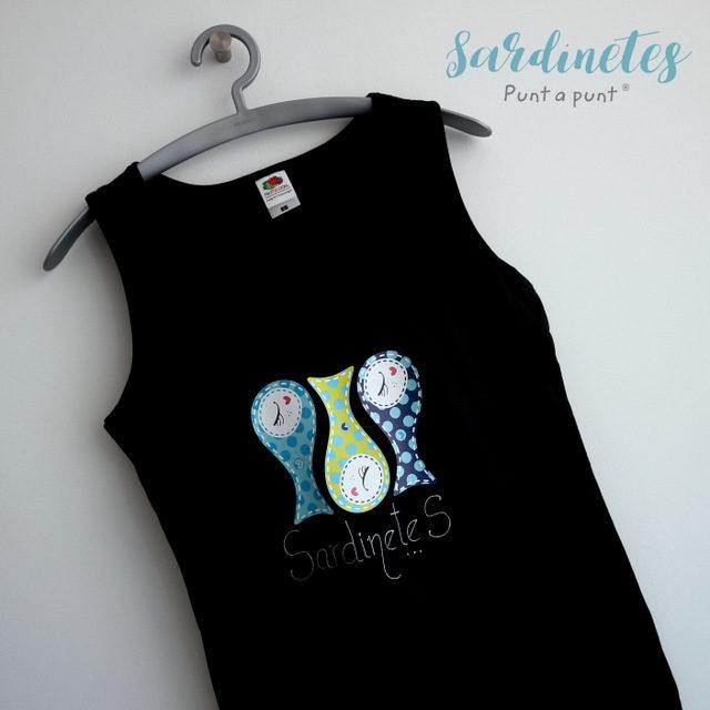 "Camiseta personalizada ""Sardinetes"""
