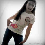 camiseta personalizada artesanal glu glu rojo punt a punt-002