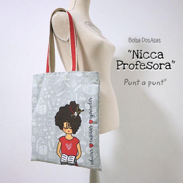 Bolsa DosAsas «Nicca Profesora»