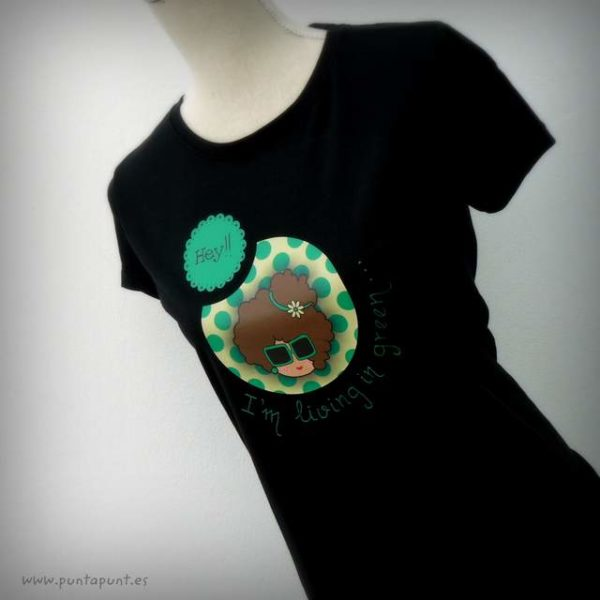 Camiseta personalizada «Nicca» y set camiseta + bolsa