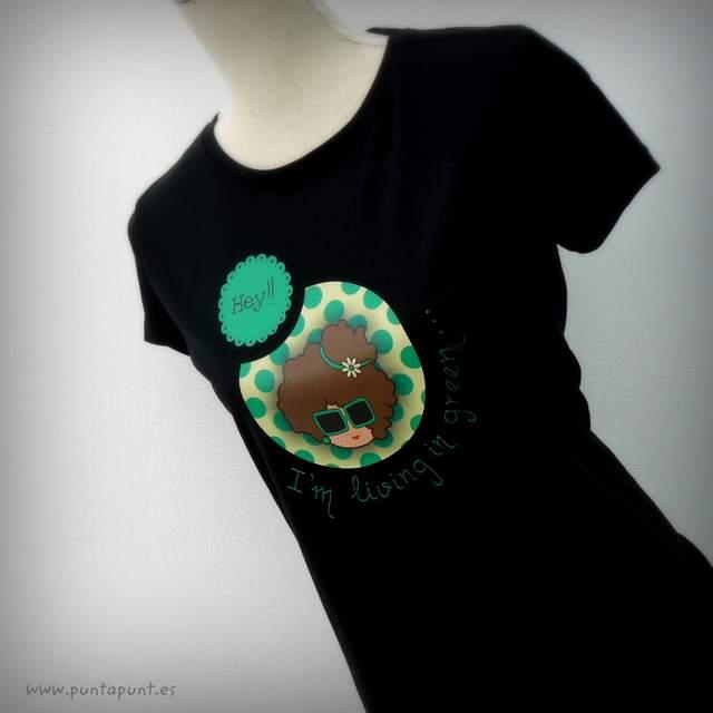 camiseta negra personalizada nicca green punt a punt-003