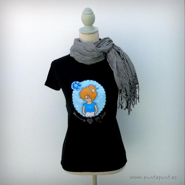 camiseta para profesora personalizada nicca blue punt a punt-001