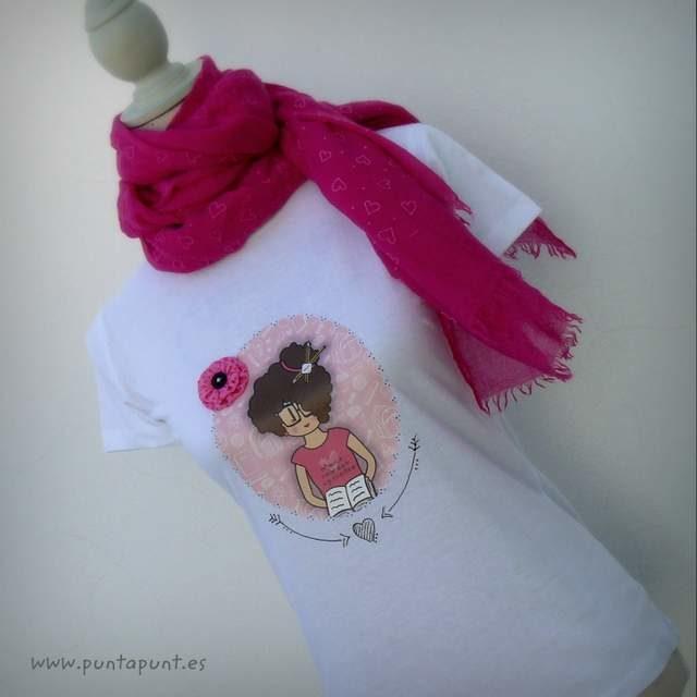 Camiseta personalizada «Nicca Profesora» y set camiseta + bolsa