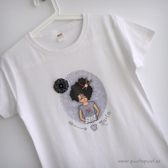 camiseta personalizada profesora nicca punt a punt