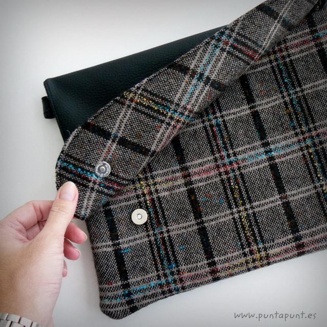 """Bolso Flap modelo """"Black Escocés"""" – en stock"""