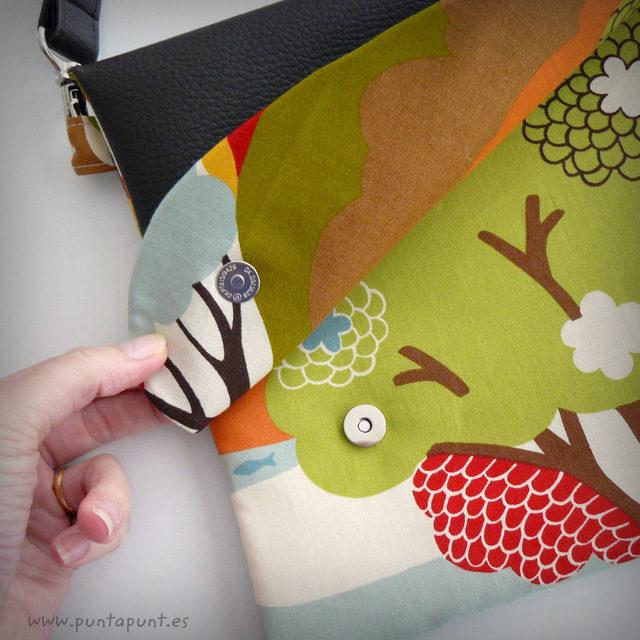 Bolso Flap modelo «Bosque japonés»» – en stock