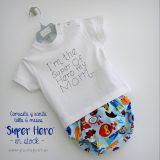 camiseta-y-ranita-artesanal-super-hero-en-stock-punt-a-punt