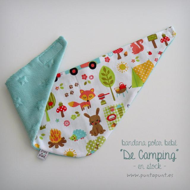 bandana polar bebe en stock de camping punt a punt
