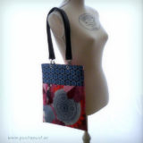 bolso de mujer modelo recorte pop flowers blue en stock punt a punt-003