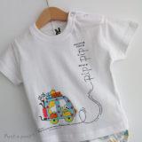 set de camiseta y ranita de bebe vamos de paseo punt a punt-003