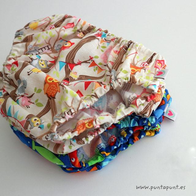 Ranitas de bebé cubre pañal