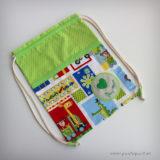 saco y mochila escolar personalizado para almuerzo punt a punt