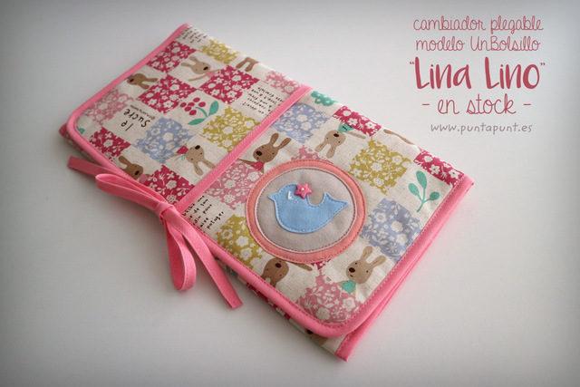 Cambiador plegable mod. UnBolsillo «Lina Lino» – en stock