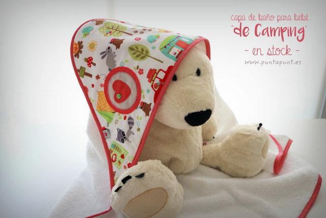 "Capa de baño para bebé ""de Camping"" – en stock"