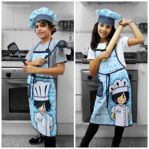 Gorro «Chef» para todas las edades