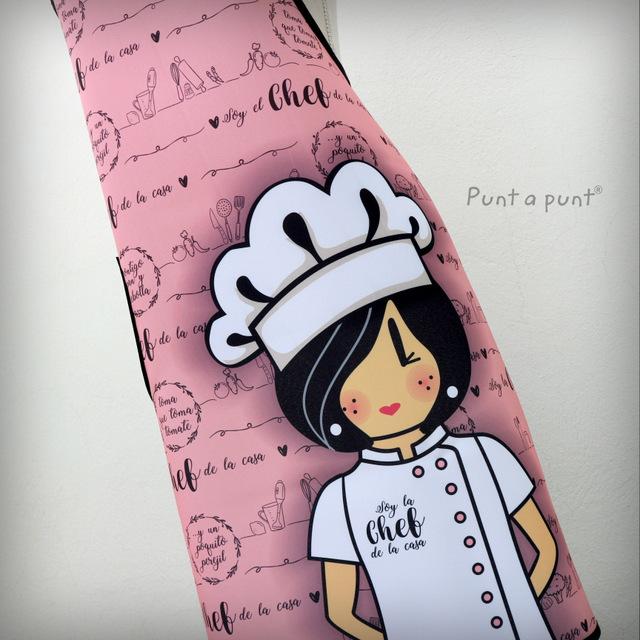 delantal pepetta chef tonos rosa punt a punt-001