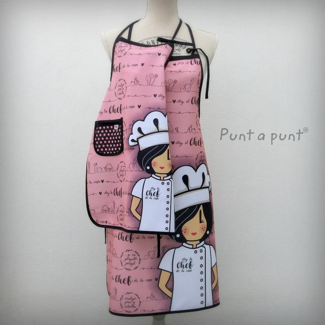 delantal pepetta chef tonos rosa punt a punt-004