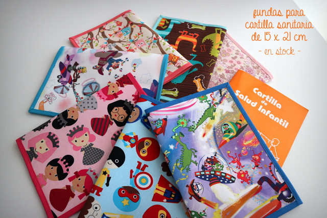 Fundas para cartilla sanitaria 15x 21 cm – en stock
