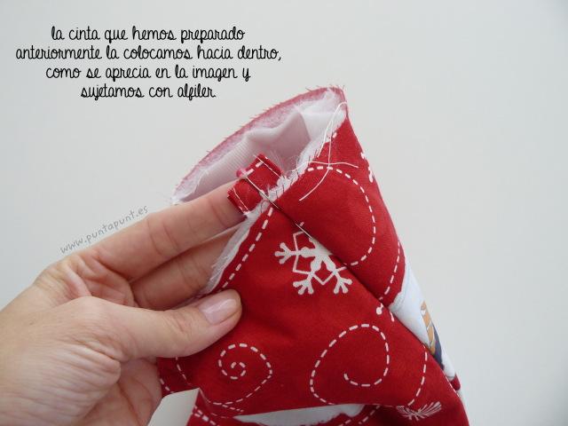 tutorial costura paso a paso bota navidad punt a punt-014