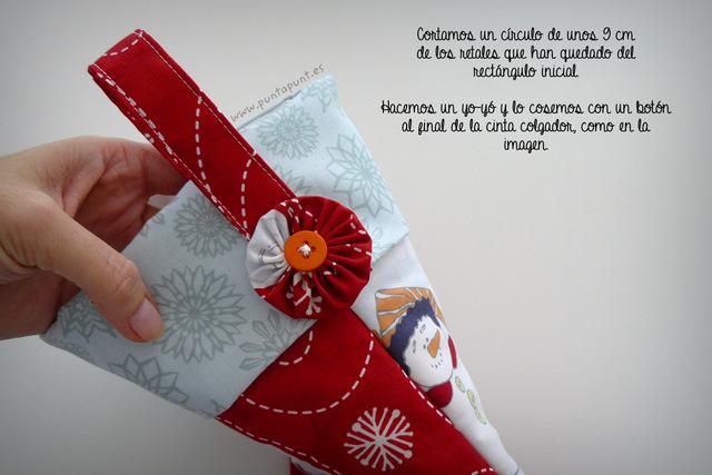 tutorial costura paso a paso bota navidad punt a punt-020